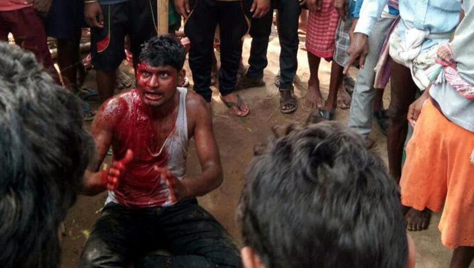 Md Naeem was beaten to death on Thursday by villagers in Sobhapur, less than an hour's drive from Jamshedpur, Jharkhand.