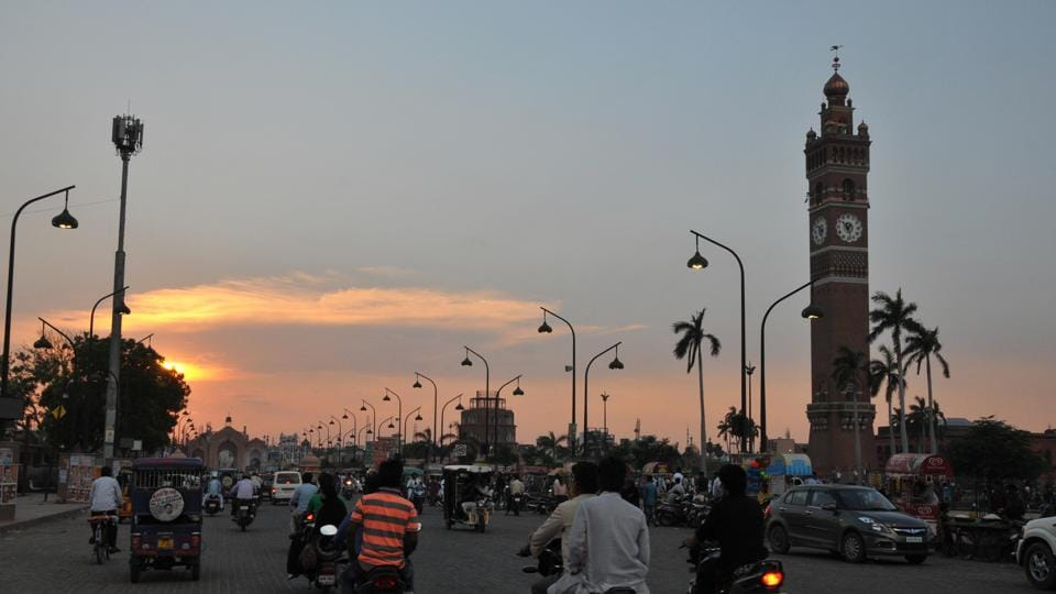 A view of Lucknow