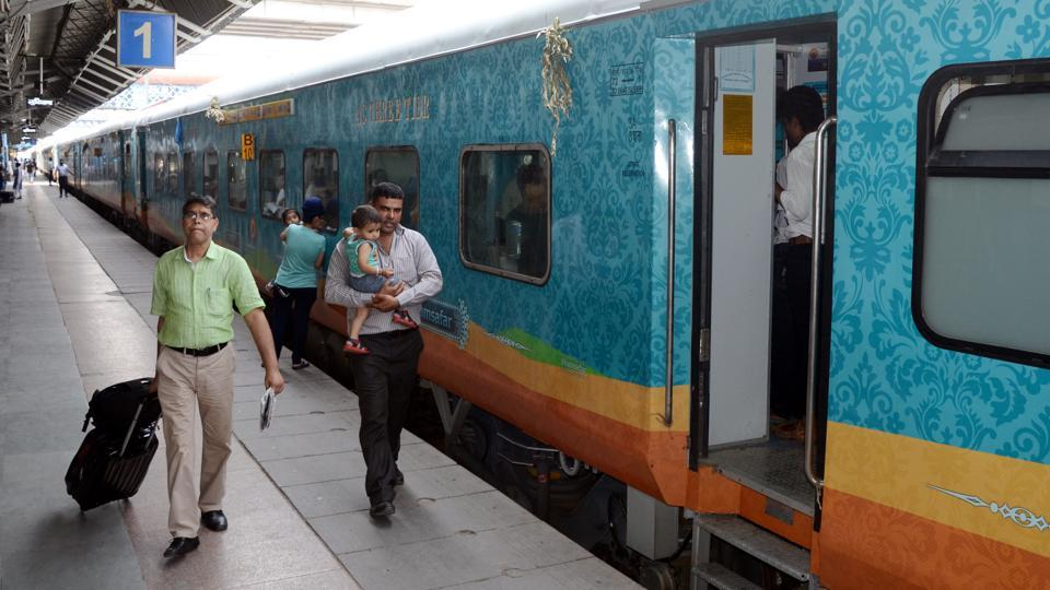 On its first regular run on Friday, the Humsafar Express (Jammu Tawi-Tirupati) was running faster by an hour and more against it scheduled time, which meant that 23 people in Jalandhar missed it.