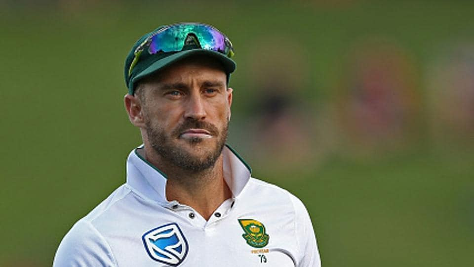 Faf du Plessis' participation remains in doubt for the Lord's Test against England, which starts next Thursday.