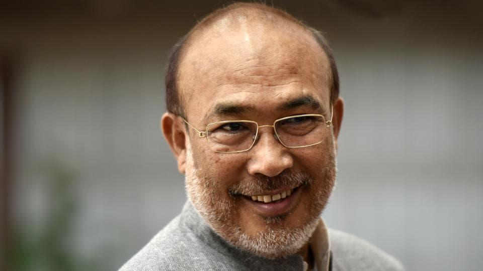Chief Minister of Manipur Nongthongbam Biren