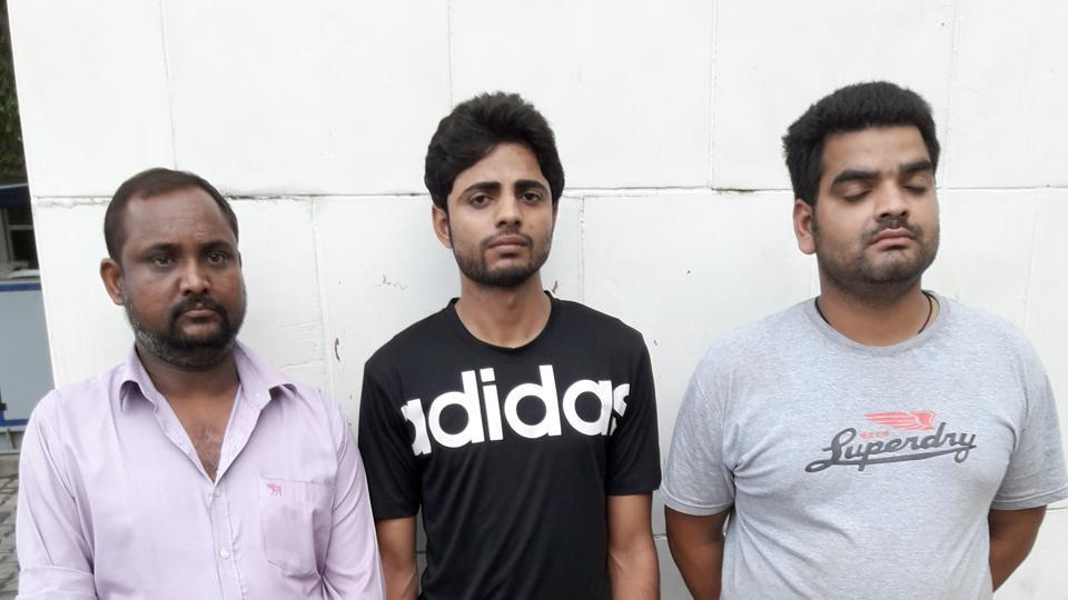 According to the police, Ankit of Etawah, Babbal of Ghaziabad and Vishal Rawat of Hathras were planning to kill two members of Sundar Bhati's gang.