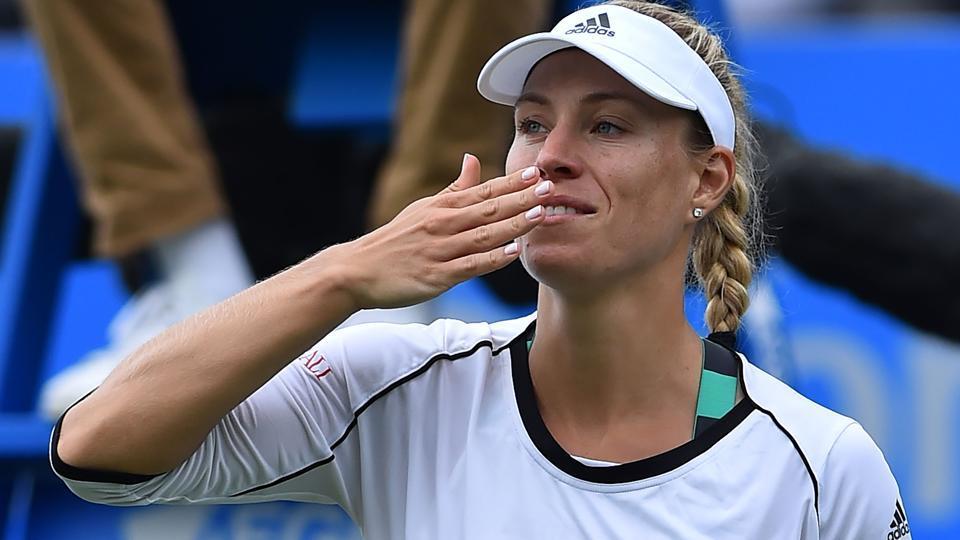 Angelique Kerber,Johanna Konta,Wimbledon