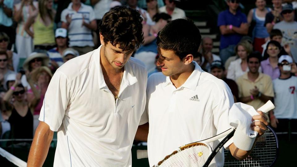 Wimbledon,Novak Djokovic,Mario Ancic