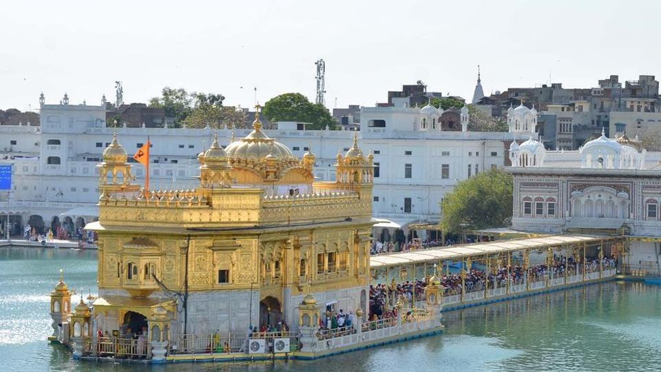Golden Temple in Amritsar.