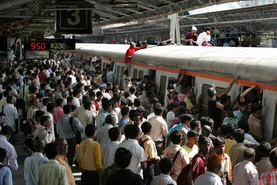 Stations and trains were overcrowded after services resumed