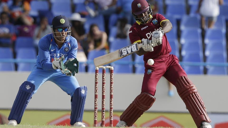 Jason Mohammed was West Indies' top-scorer with a  61-ball 40. (AP)