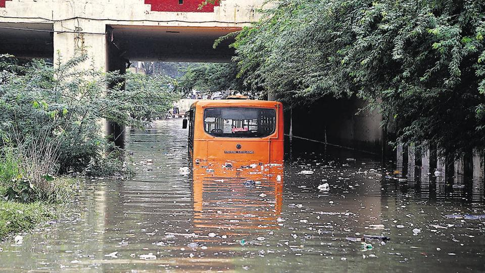 For the 35 lakh passengers who board government run buses in the Capital daily, the chances of being stuck in a bus due to a breakdown almost doubles during the rainy season as compared to the rest of the year.