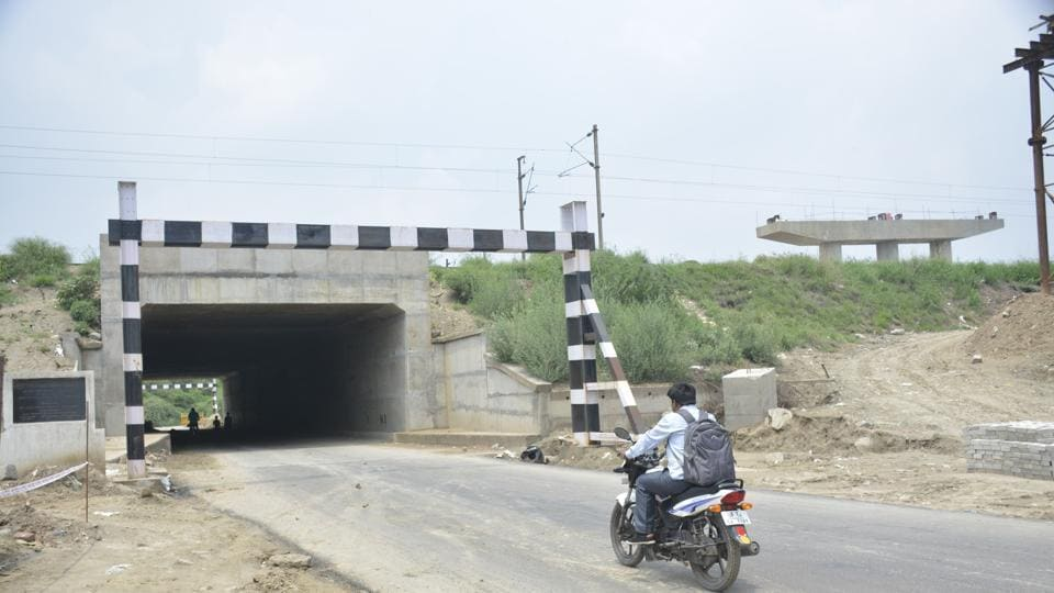 The new two-lane underpass has been constructed at a cost of nearly Rs 22 crore and is now fully operational.