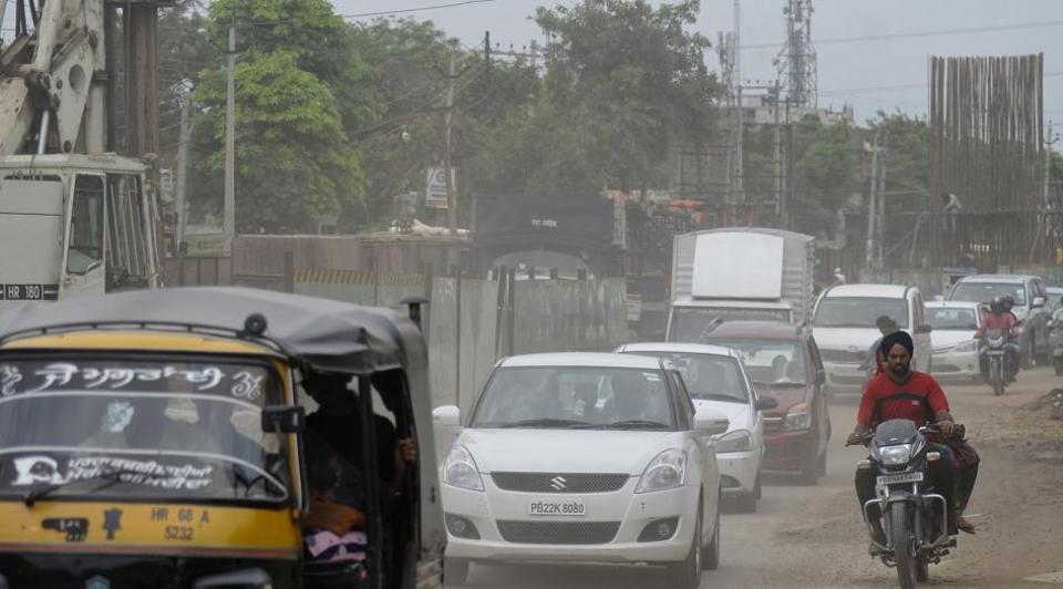 Chandigarh-Kharar road,Mohali