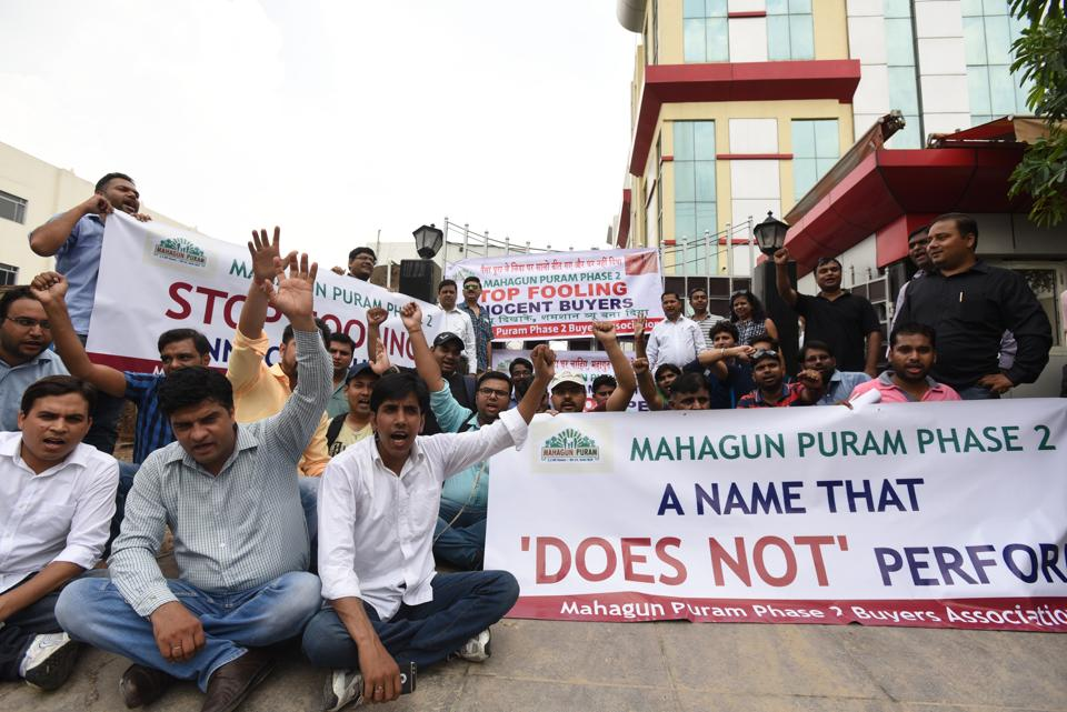 The homebuyers alleged that they were promised to get possession of flats from 2014.