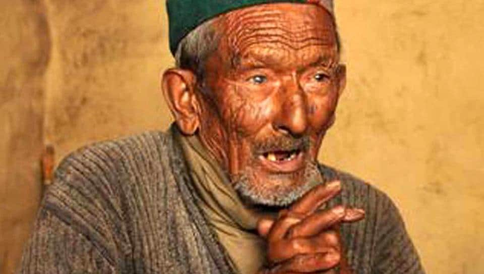 Shyam Saran Negi was the first voter in India.