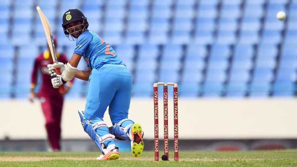 India's Ajinkya Rahane scored 72 in the 3rd ODI vs West Indies in Antigua on Friday.
