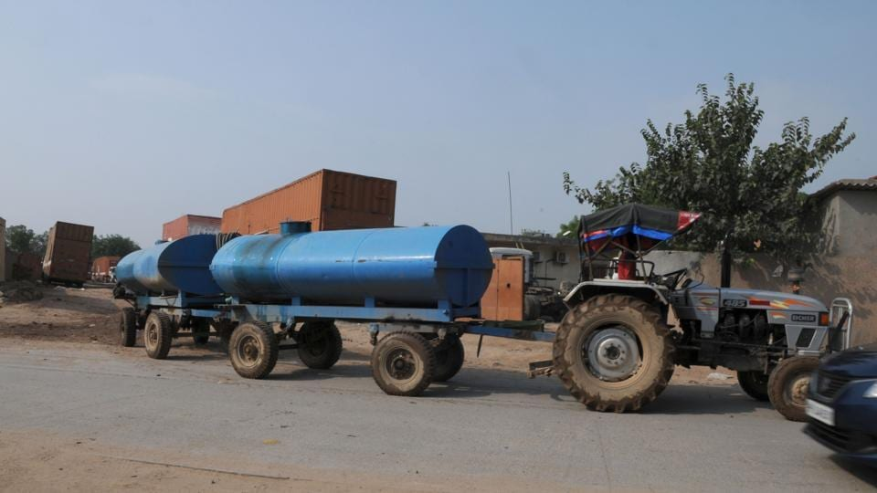 Residents said they have been forced to pay exorbitant amounts for water tankers due to the shortage.