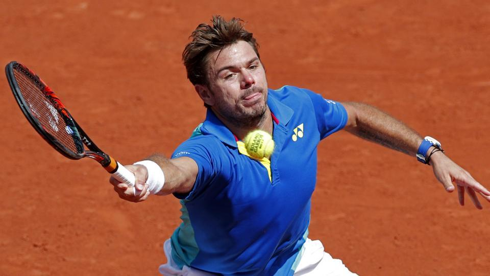 Swiss Stan Wawrinka's best performance at Wimbledon is reaching the men's singles quarterfinals in 2014 and 2015.