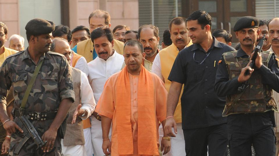 Adityanath is an MP but to continue as chief minister he needs to get elected to the state legislature within six months of being appointed as chief minister.