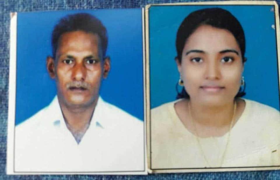 Muthukrishnan and Manjula Naidu