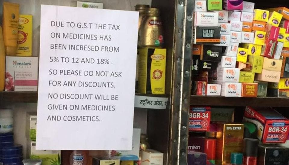 GST,Goods and Services Tax,Medicines