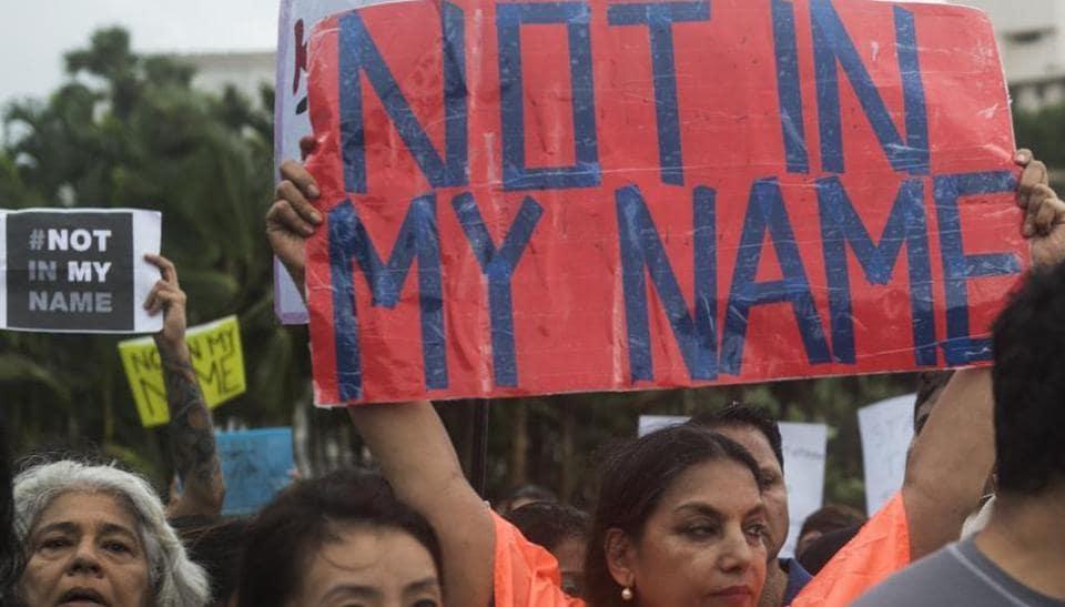Mumbai city news,Not in my name,mob lynching