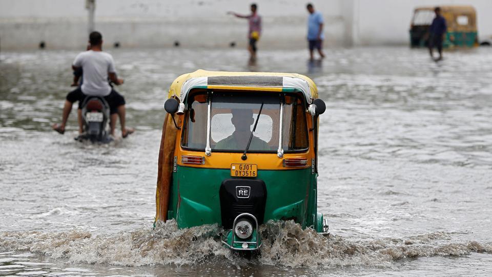 Monsson,Torrential rain,Gujarat rain situation