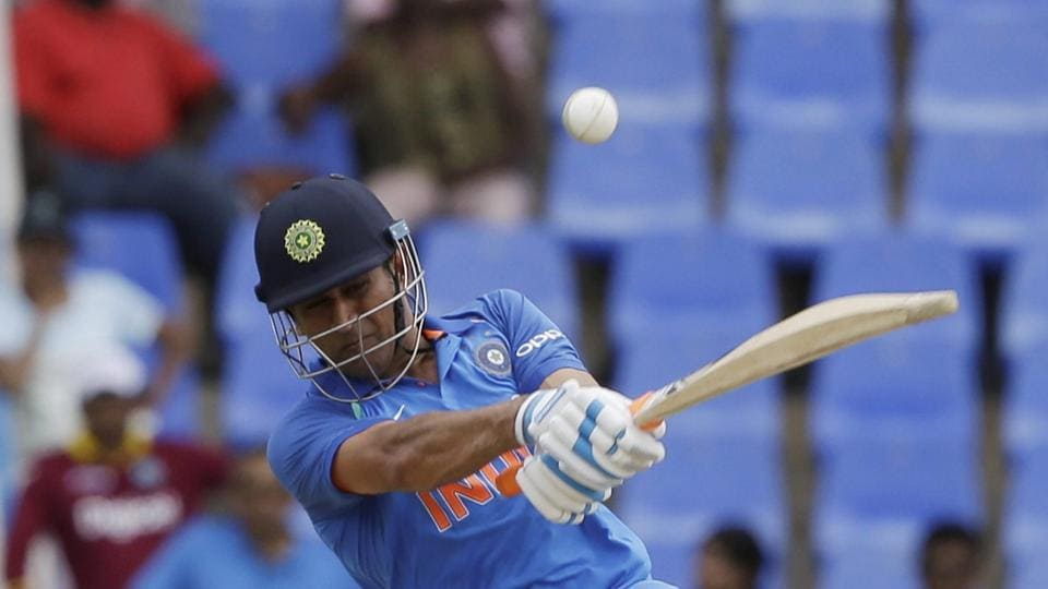 MS Dhoni recently achieved a new personal milestone during his innings vs West Indies in the third ODI at Antigua.