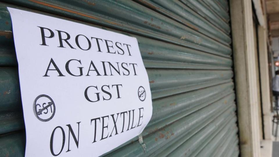 Although economist are hailing GST, small traders have come in protest of the new tax reform.