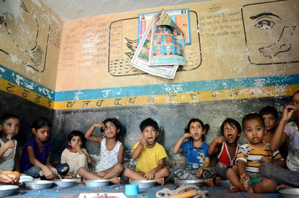 The Union women and child development ministry is taking steps to transform  anganwadi centres  from just feeding to pre-school  learning centres.