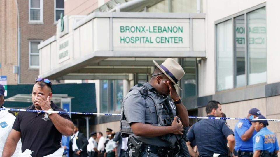 New york hosital shooutout,Doctor shooting in NY hospital,Bronx Lebanon Hospital