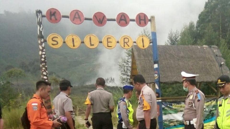 Helicopter crah,Indonesia helicopter crash,Chopper crash