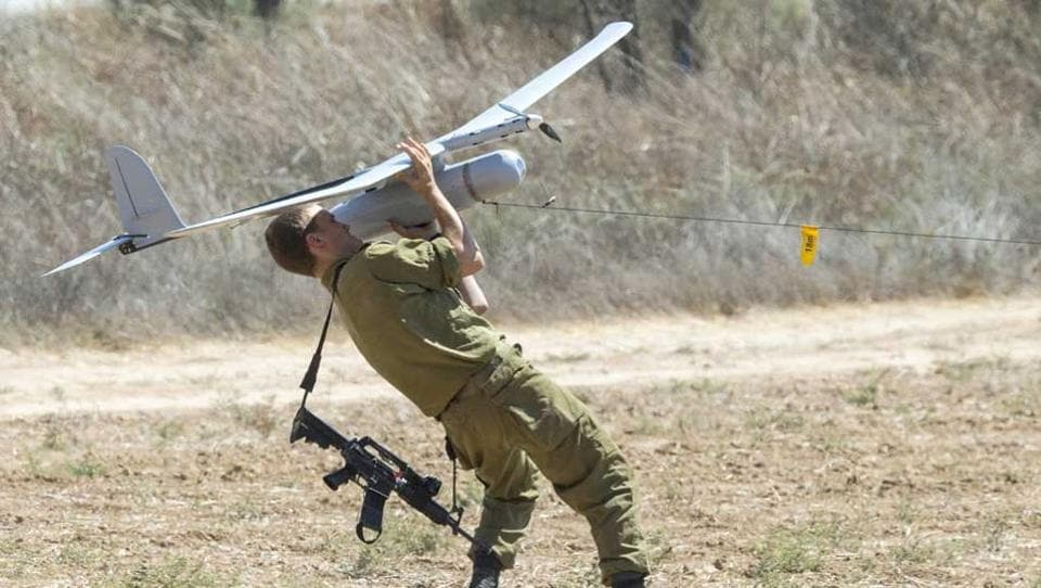 The first military use of unmanned aerial vehicles was by the Israeli military in the Yom Kippur War.