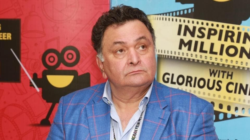 Rishi Kapoor during inauguration of Jagran Film Festival.