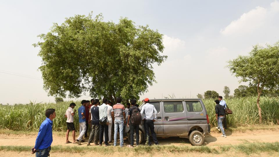 The eight members of a family were travelling in a car from Jewar to Bulandshahr on May 25, 2017. They were stopped by six armed men, who shot dead a male member and allegedly raped four women of the family.