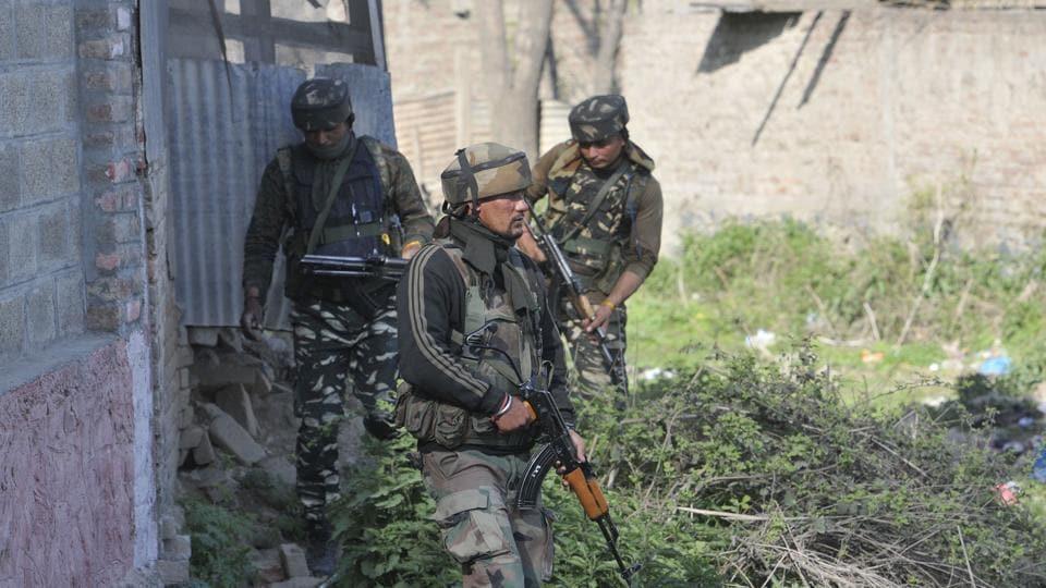 Militancy in Kashmir,Indian Army,CRPF