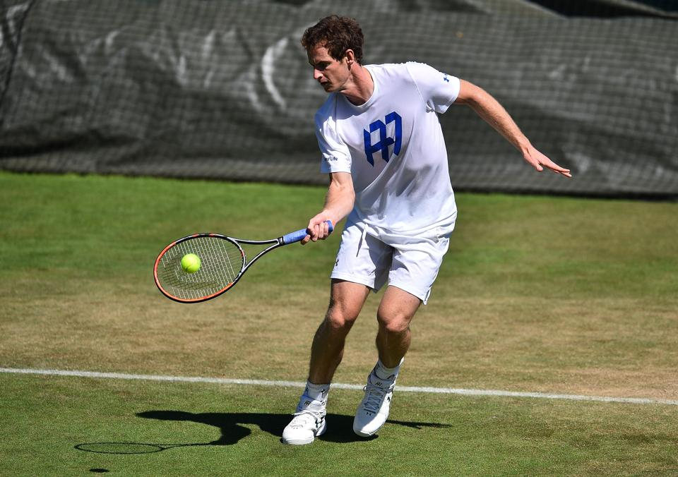Andy Murray's fitness issues might be a concern, but the defending Wimbledon champion and World number 1 is the undisputed favourite for this tournament.  (AFP)