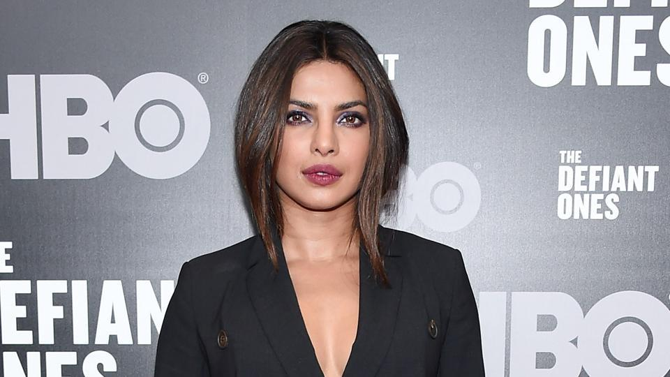 Priyanka Chopra attends The Defiant Ones premiere at Time Warner Center on June 27, 2017 in New York City.