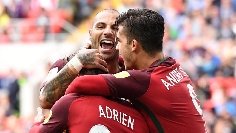 Adrien Silva scored the winning goal for Portugal in extra time vs Mexico.