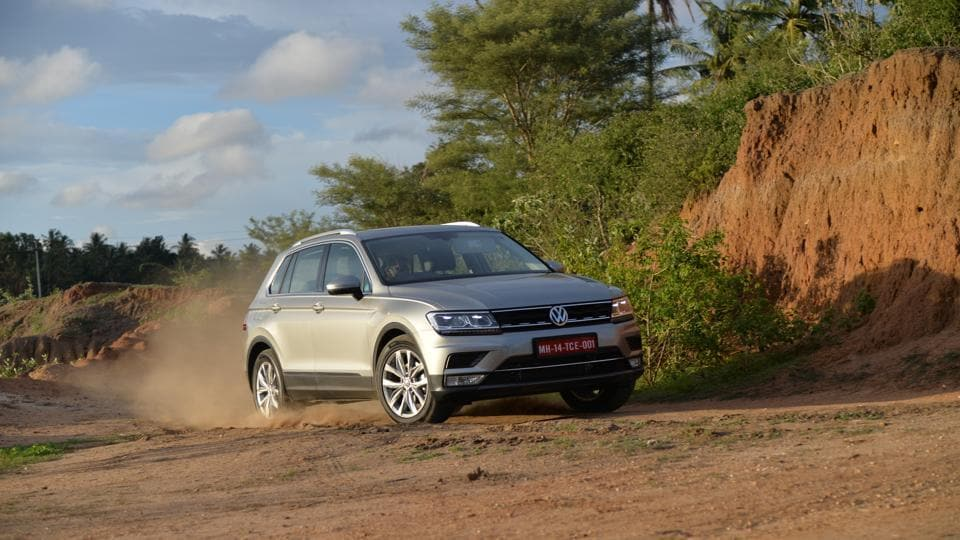 The new Volkswagen Tiguan is a powerfulSUV but ditches muscular aggression for some straight-line styling. The price it comes at, you might have second thoughts.