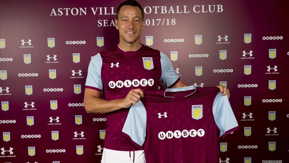 John Terry has chosen to sign with Championship side Aston Villa.