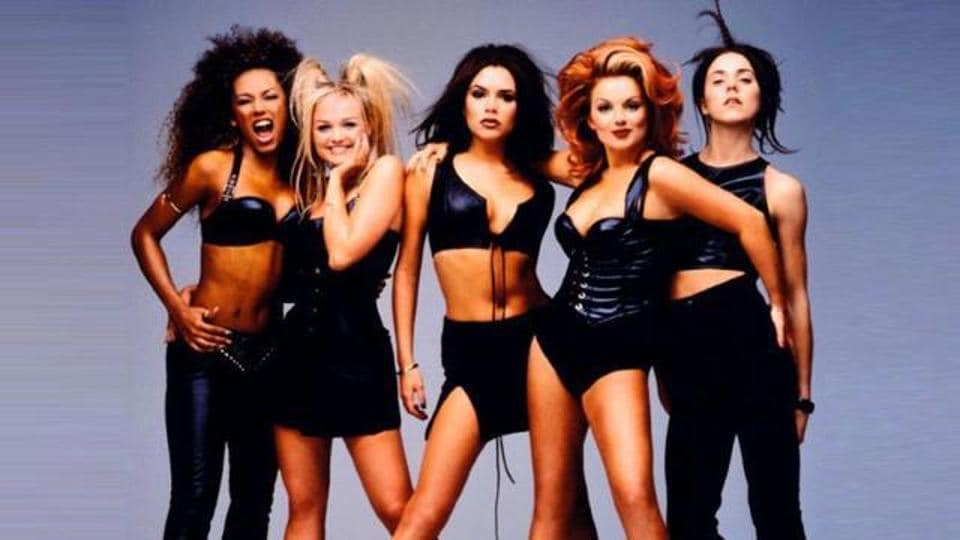 The Spice Girls, at the peak of their careers.