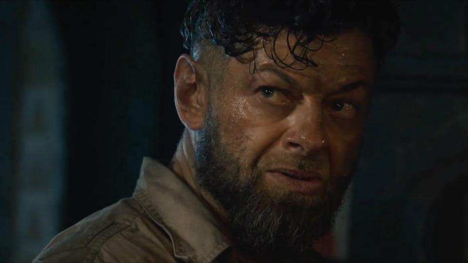 Andy Serkis in a still from Black Panther.