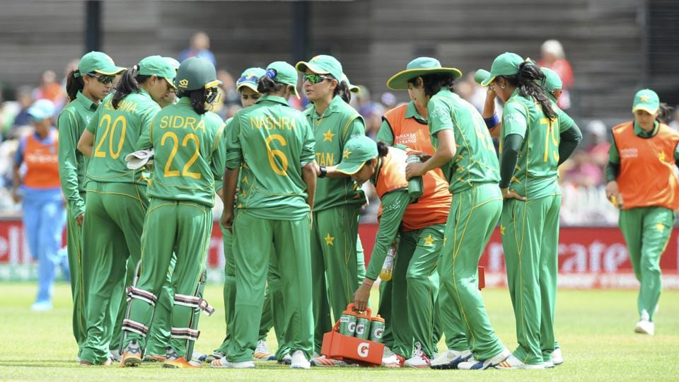 Pakistan bowlers were successful in making the Indian players bat cautiously. (AP)
