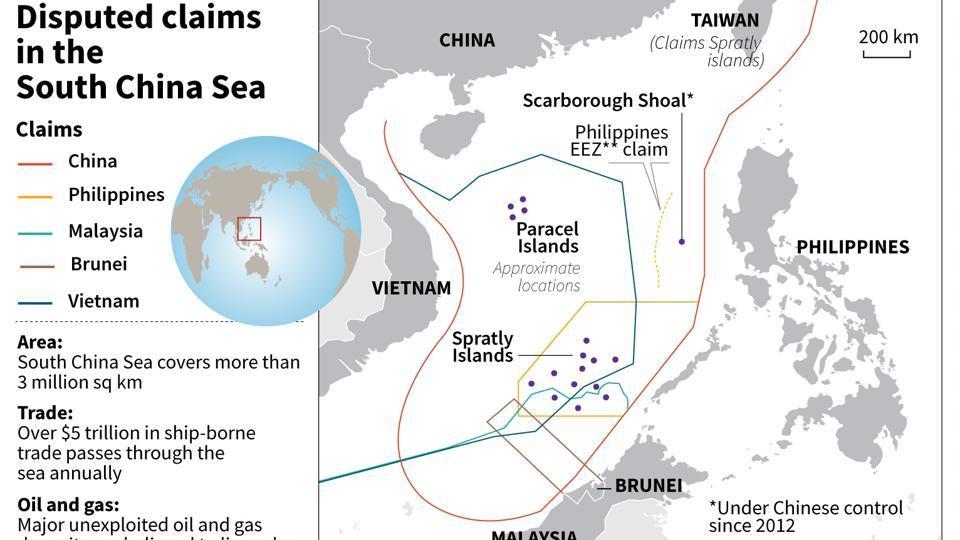 South China Sea,US,America
