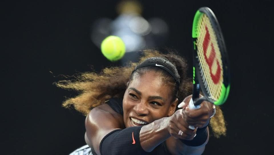 Serena Williams might not be at Wimbledon, but she is clearly missing being in action.