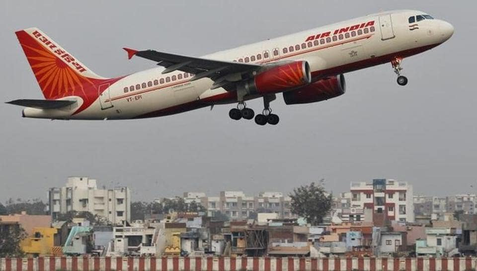 Passengers protested against the air conditioner malfunctioning on an Air India flight .