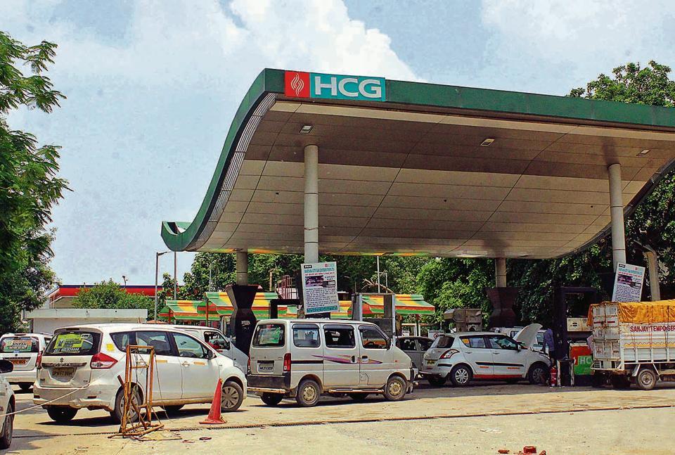 Gurgaon has 135 petrol pumps and 14 CNG stations.