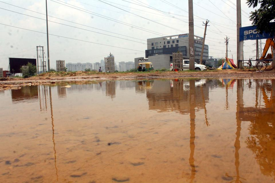 Officials said pre-monsoon showers in the city left several waterlogged areas open to the threat of mosquito-breeding and a spike in cases of  malaria, dengue and chikungunya.