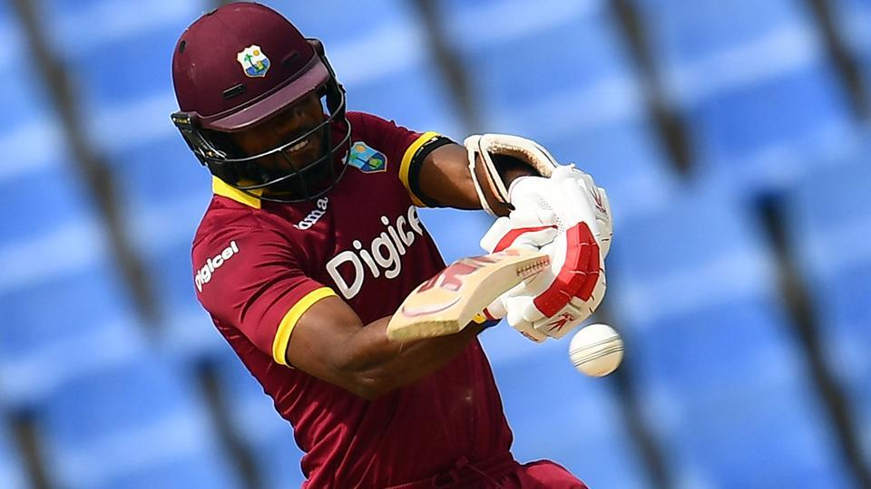 West Indies' Kyle Hope (35) was the highest scorer for his team. (AFP)