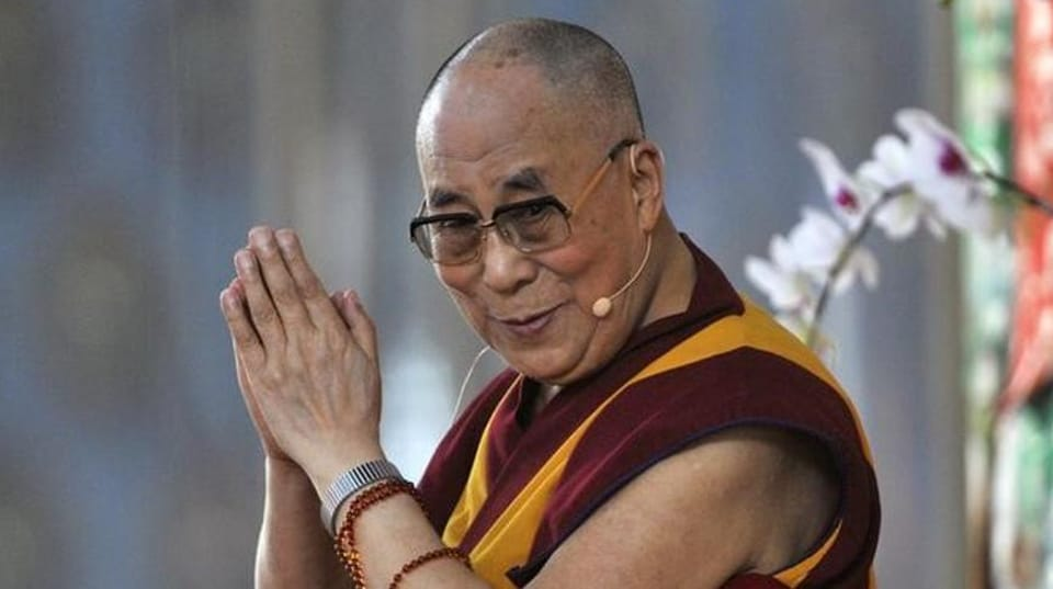 Dalai Lama who fled Tibet's capital Lhasa in 1959 after the Chinese intrusion, will turn 82 on July 6.