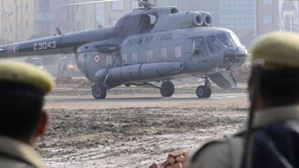 Union Minister Rijiju Escapes Unhurt As Chopper Makes Emergency Landing
