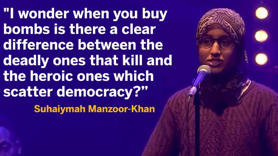 Suhaiymah Manzoor-Khan,Poetry,Viral news